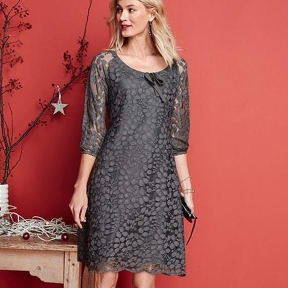 fae30f1eed Garnet Hill Dresses   Skirts - Garnet Hill Boheme Lined Easy Lace Dress 8